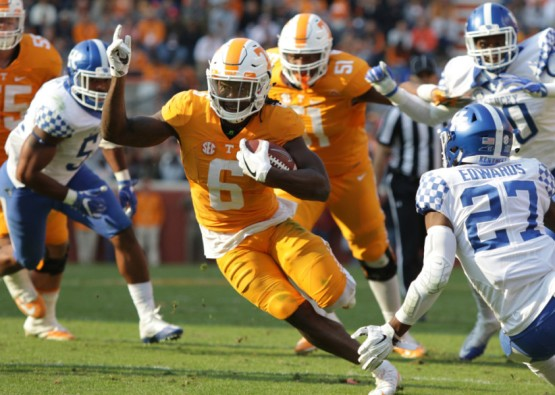 NCAA FOOTBALL: NOV 12 Kentucky at Tennessee