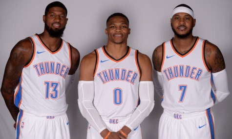USP NBA: OKLAHOMA CITY THUNDER-MEDIA DAY S BKN USA OK